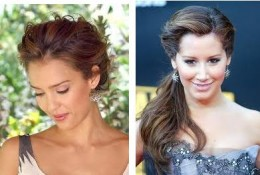 Some Hair Styles that are off the face.