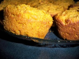 Can You Smell These Hot Pumpkin Muffins?