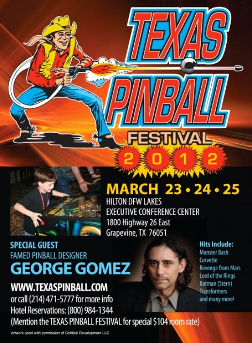 The Texas Pinball Festival is 15,000 square feet of AWESOME!