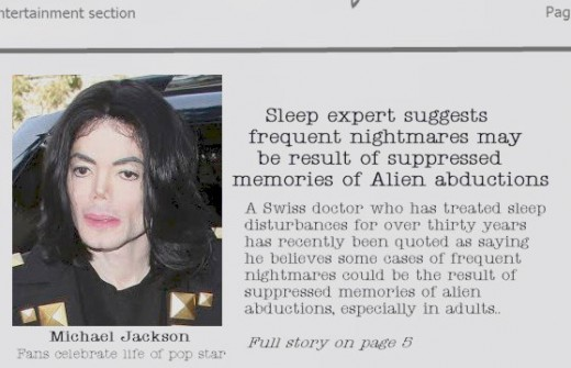 Michael Jackson headline