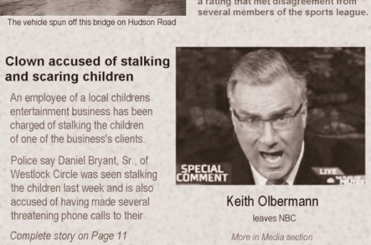 Keith Olbermann headline