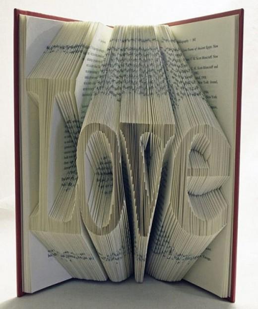 Beautiful pics of unusual Book Art from kathleen-kuzma Source: flickr.com