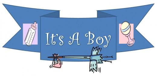 Congrats! It's a boy!