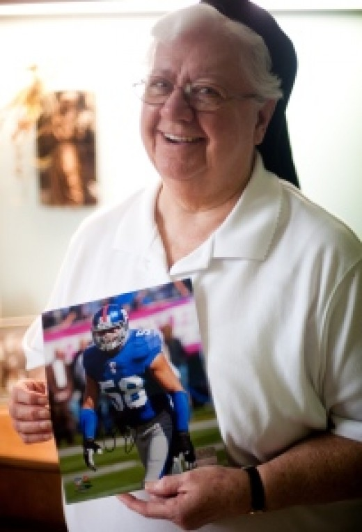 Sister Barbara Ann Hallman started praying and writing to Herzlich when she read about him online.