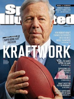 Robert Kraft donned the cover of the Sports Illustrated one week before the franchise he has turned into the most successful team in the NFL gets set to make their sixth Super Bowl appearance under his ownership.