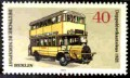Postage stamp of West Berlin, Double-decker bus (1925)