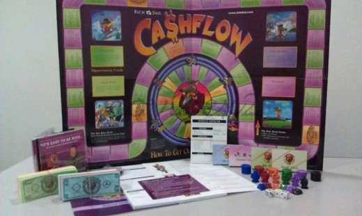 CashFlow 101 & 202 Board Game