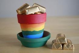 Rainbow pot of gold