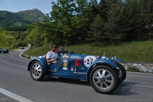 Bugatti in Mille Miglia 2007