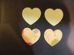 Smaller Heart cutouts