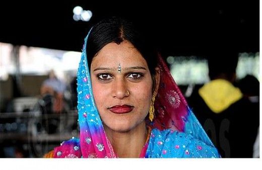 A typical Punjabi female