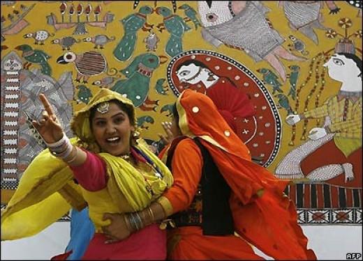 Bhagra a Punjabi folk dance