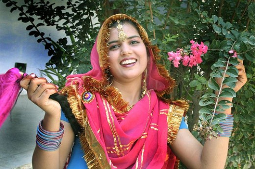 haryanvi female from village