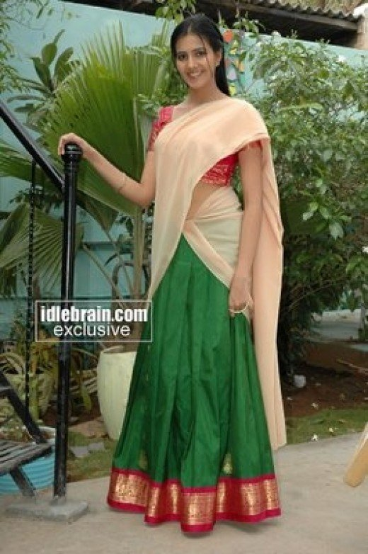 Andhra female she is a leading actress