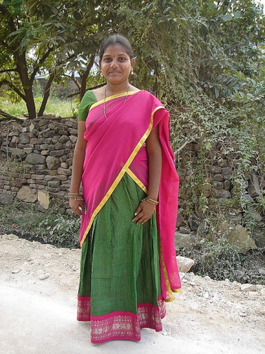 A Tamil village female