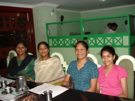 Tamil working females