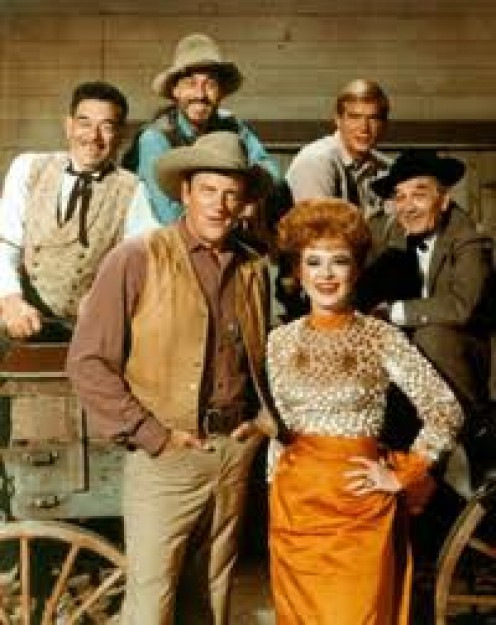 GUNSMOKE CAST.