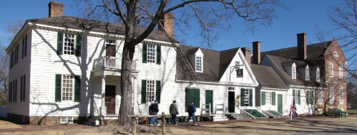 The Geddy House and the Mary Dickinson Store