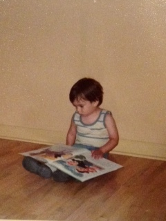 As a toddler, he could read with comprehension.