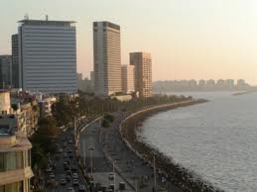 Nariman Point- Air India Building, Oberoi Hotel etc.