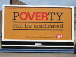 A church organization tries to eliminate poverty in the UK.
