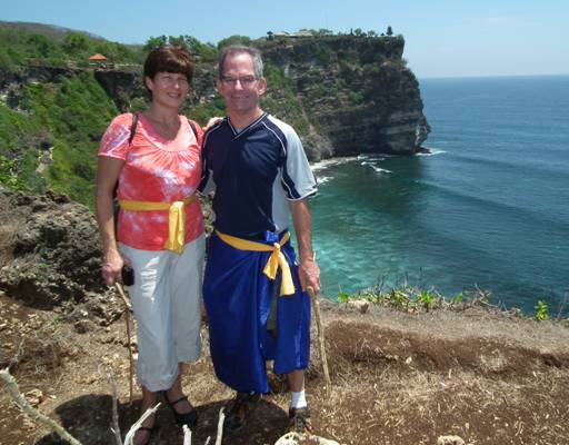 Celebrating our 30th Wedding Anniversary in Bali