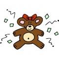 Cute, little-stuffed Teddy Bear.....