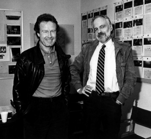 Ridley Scott with Philip K. Dick