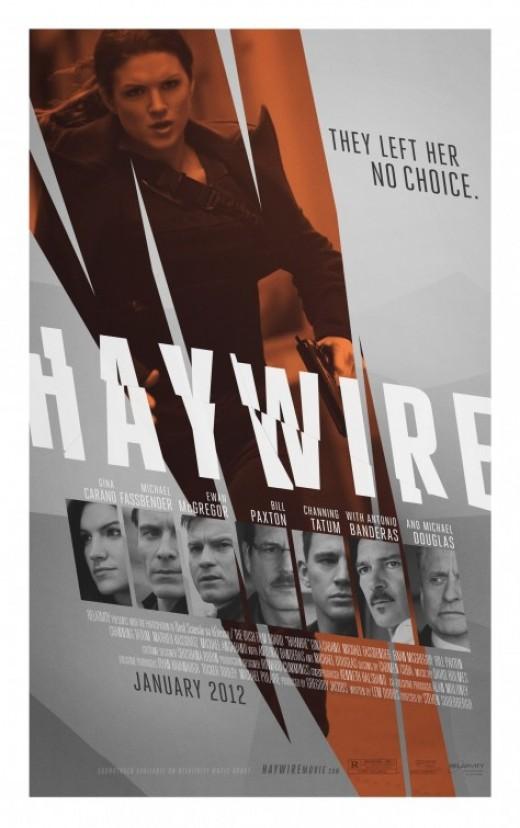 Haywire Movie Poster #3
