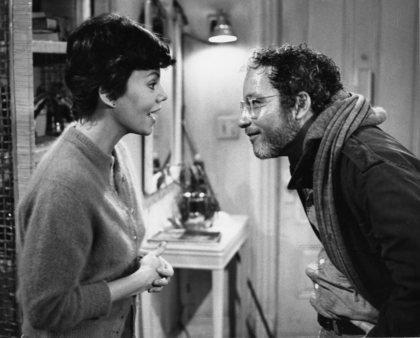 "Marsha Mason and Richard Dreyfuss in ""The Goodbye Girl""."