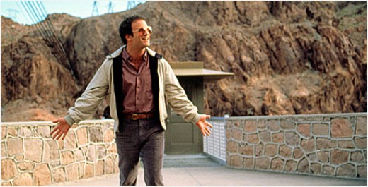 "Albert Brooks is ""Lost in America""."