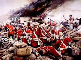 After the disaster at Isandlwana, the heroic stand at rorke's Drift convinced Ketawayo war would be futile against the Brits... A question of numbers