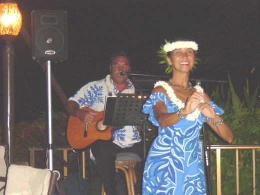 "Singing ""What a Wonderful World"" in Maui"