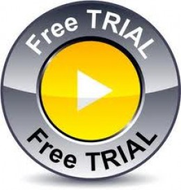 Free trials are great just be sure to cancel it before the end of the trial.