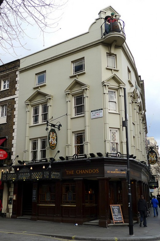 The Chandos, Samuel Smith Pub