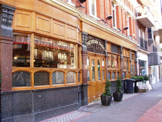 A Samuel Smith Pub In london