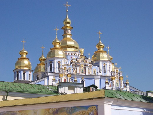 St. Michael's Cathedral in Kyiv