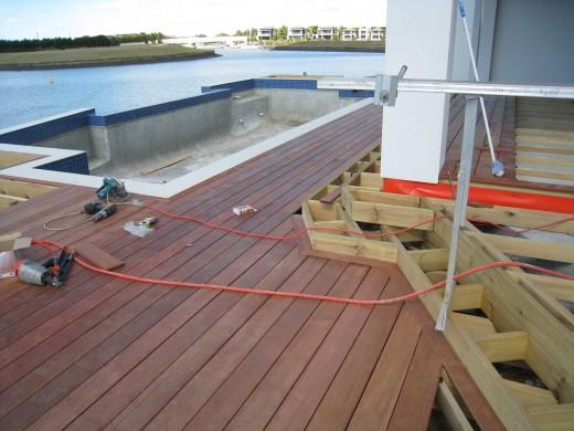 Deck Boards Way Install Deck Boards
