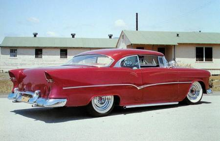 1955 CHEVY - WITH EARLY LO-RIDER KIT