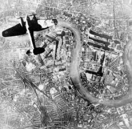 A Luftwaffe Bombers Eye View of my Local Fish & Chip Shop
