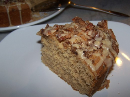 The Elvis Coffee Cake