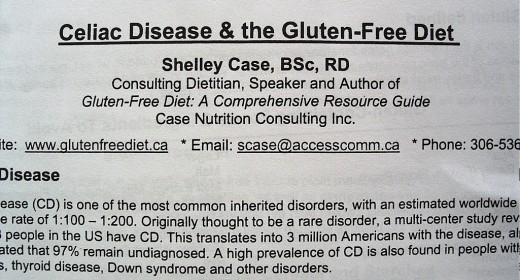 More Help on Gluten-Free Eating.