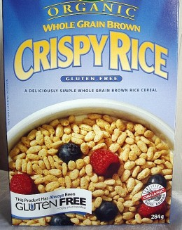 An excellent Gluten-Free Cereal