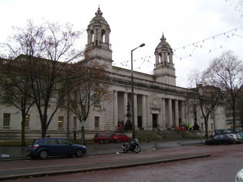 Crown Court, Cathays Park, Cardiff, Wales