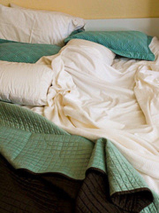 Crumpled Bed from daishih Source: flickr.com