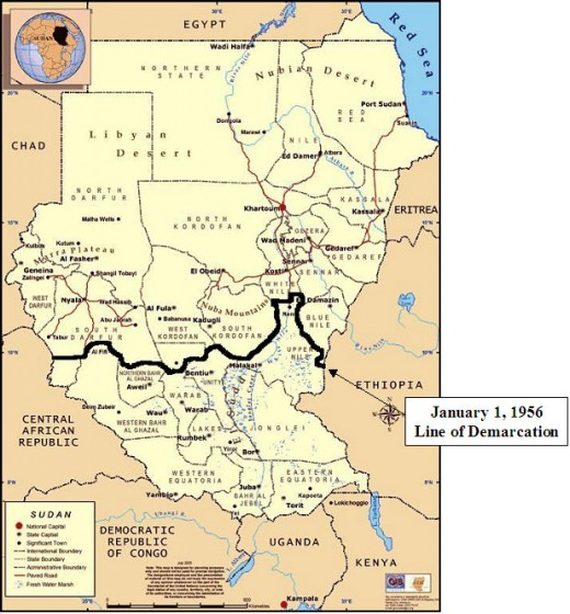 the new Republic of Southern Sudan