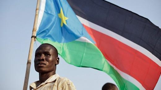 Southern Sudan's flag