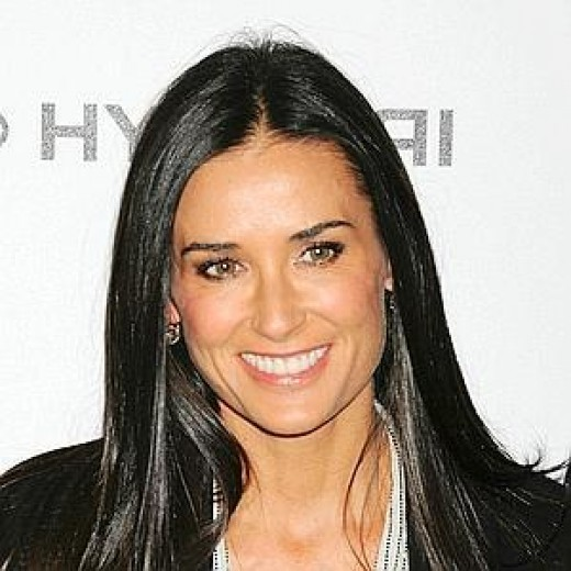 "Demi Moore, a recent symbol of Hollywood's obsession with ""youth."""