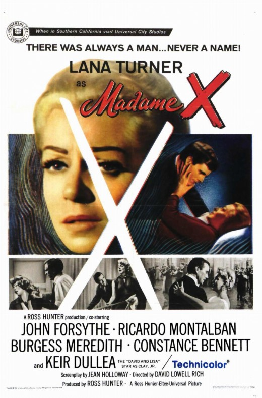 """Movie poster from the movie """"Madame X"""""""