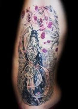 Geisha tattoos and meanings geisha tattoo designs and ideas for Geisha tattoo meaning